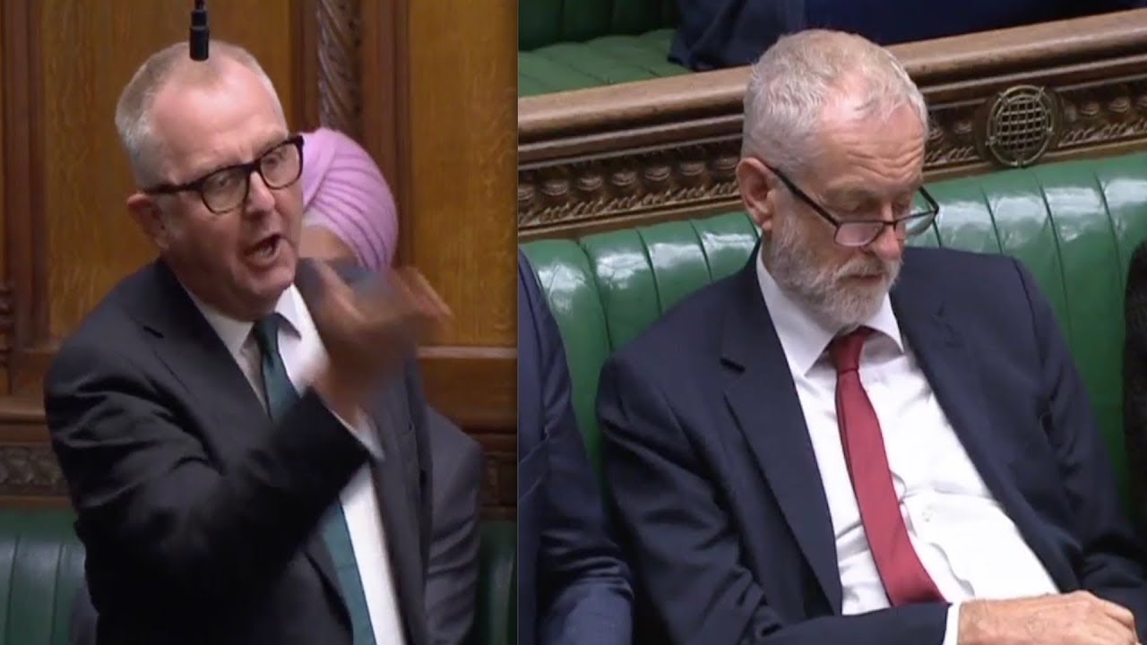 Brexit Fury Jeremy Corbyn Torn Apart By Former Labour Mp Ian