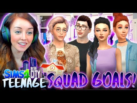 SMART SQUAD GOALS! 📚🙌 (The Sims 4 IN THE CITY #34!💒)