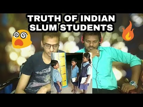 TRUTH OF INDIAN SLUM STUDENT | Must Watch This Video | Reaction Toli