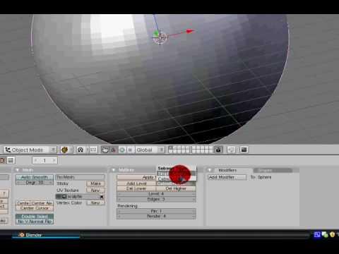 Blender 3d - Introduction To Multires