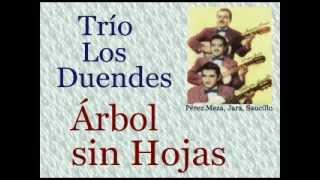 Trío Los Duendes:  Árbol sin Hojas  -  (letra y acordes)