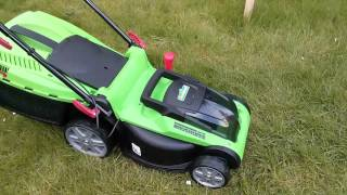 Mowing the Lawn using Battery Power