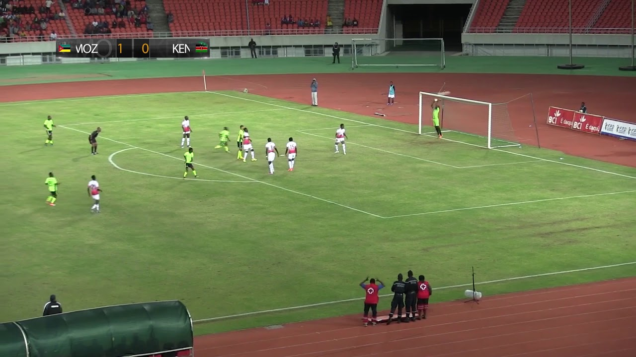 MOZAMBIQUE vs KENYA Highlights FIFA International friendly 2nd Sept 2017 Zimbeto National Stadium