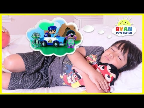 Ryan's Toys Comes to Life in Ryan's Dream Pretend Play fun!!!