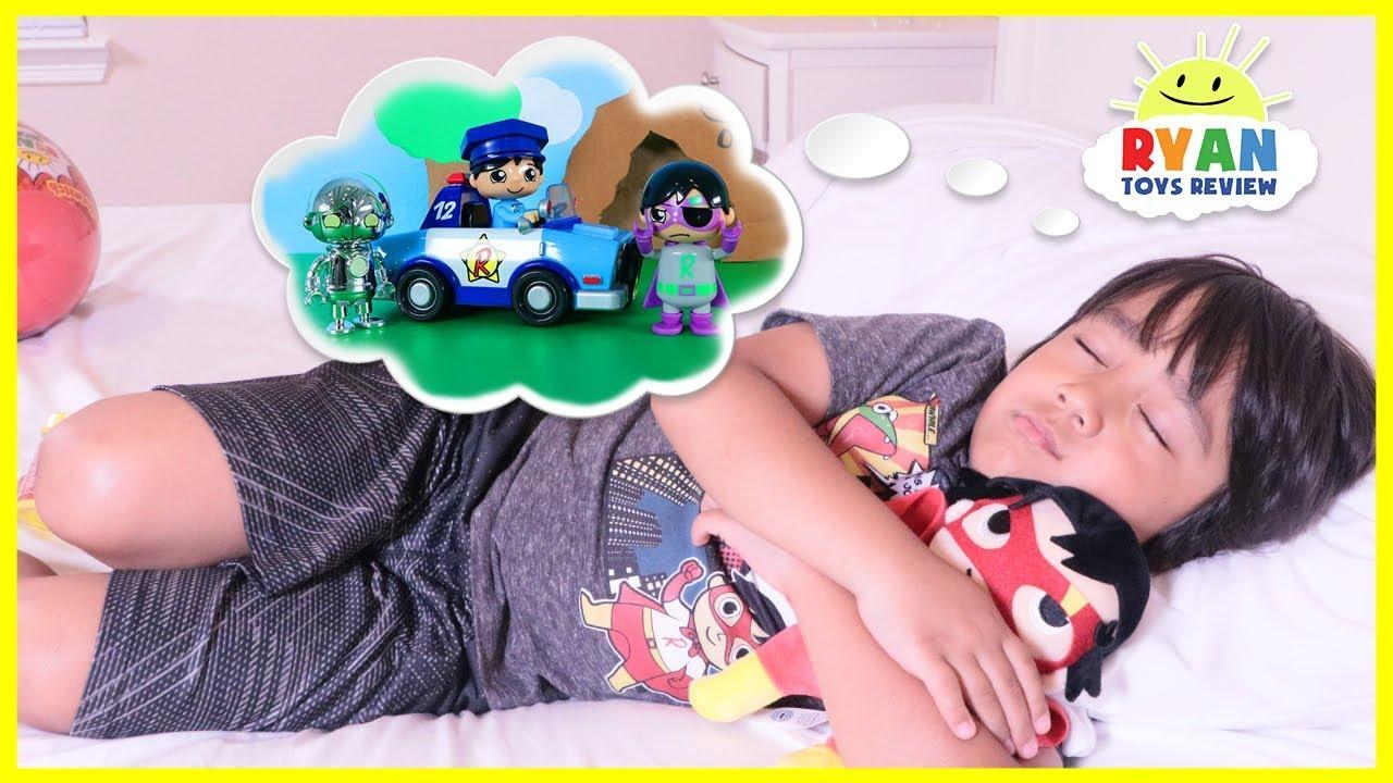 Ryan's Toys Comes to Life in Ryan's Dream Pretend Play fun ...