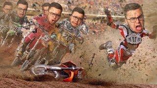 HORRIBLE Dirt Bike Racing CRASH of Moto Cross 2019