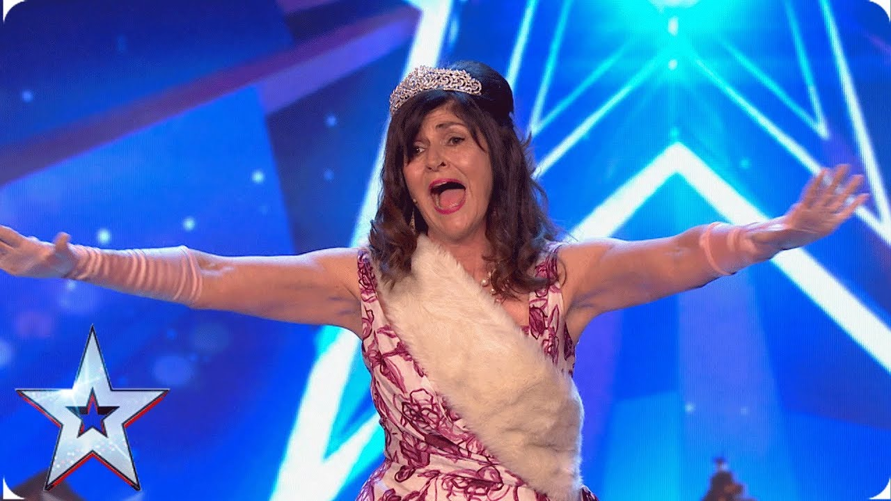 Sheila's special song for David Walliams | Auditions | BGT 2019