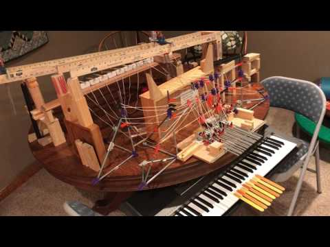 Piano Rube Goldberg