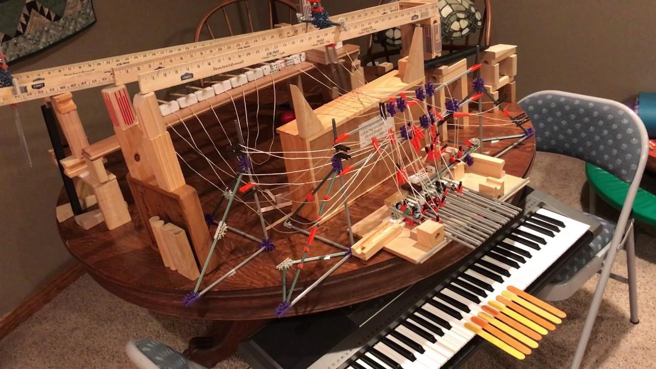 Piano Rube Goldberg - YouTube