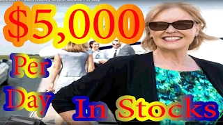 How To Invest In Stocks For Beginners 2017 -  Earn Money Online $5,000 Per Day