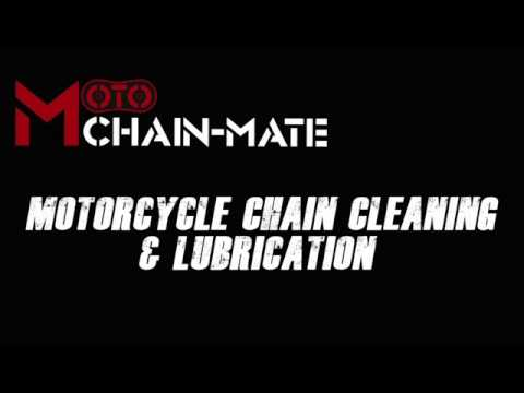 Motorcycle Chain Cleaning & Lubrication - The Ultimate Kit