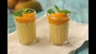 Eggless Mango Mousse  Sanjeev Kapoor Khazana