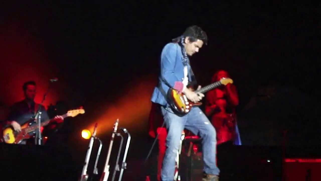 John Mayer Slow Dancing In A Burning Room Live Sao Paulo