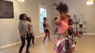 femme hip hop bday tank choreography