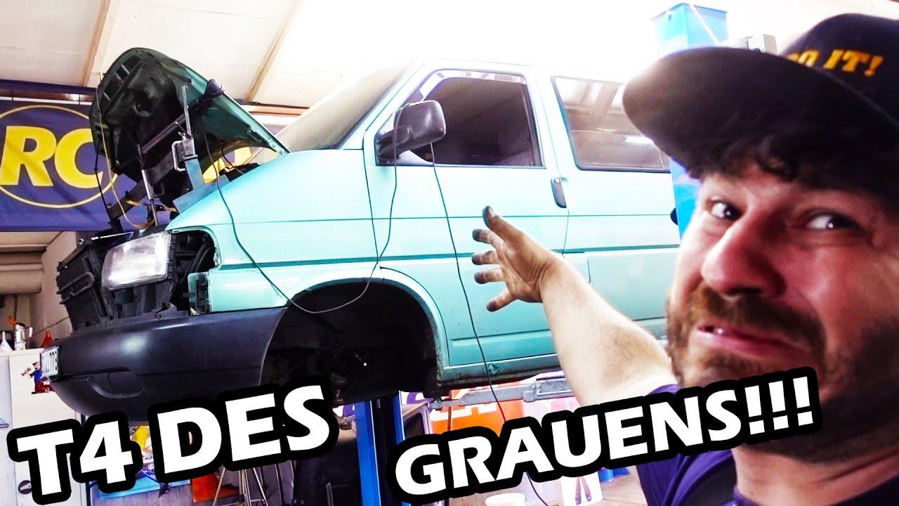 VW T4 des GRAUENS 🤬 Alles muss gewechsel werden! ZMS am LIMIT ! Keine weiterfahrt mehr möglich!