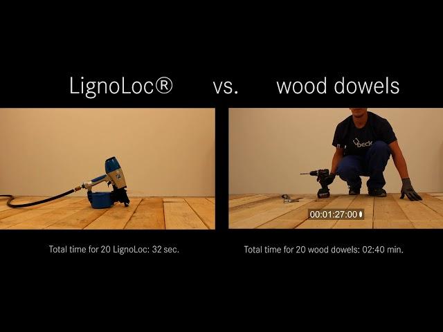 LignoLoc vs. wood dowels thumbnail