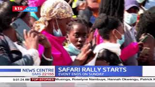 Safari Rally Starts: Rally officially started ; President Uhuru flagged off rally cars