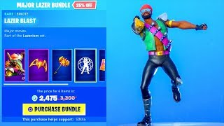 Fortnite 'NEW'EMOTES cryptée 'DEFAULT MUSIC PACK..! (MAGASIN D'OBJETS) Fortnite Bataille Royale