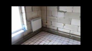 Отопление, теплые водные полы в частном доме.