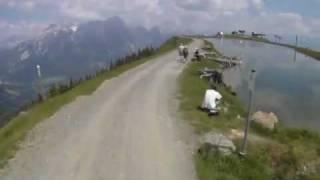 Alps Biking near Maishofen.m4v