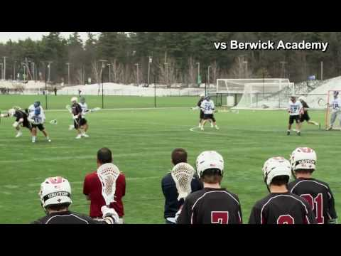 John Beatty Groton School Lacrosse 2015 Highlights