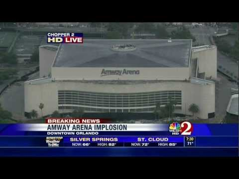 Amway Arena Implosion