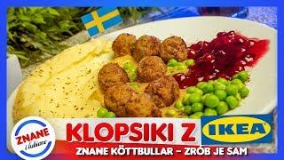 KLOPSY Z IKEA - szwedzki przysmak znany jako KOTTBULLAR - DOMOWY PRZEPIS