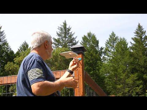 Best Solar Lights For the Garden – Innogear 450 Lumens 2pk