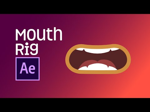 After Effects Tutorial - Mouth Rig   Joysticks n Sliders