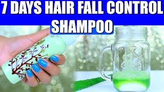 Hair Fall Control Natural Shampoo Results in 7 days | SuperPrincessjo
