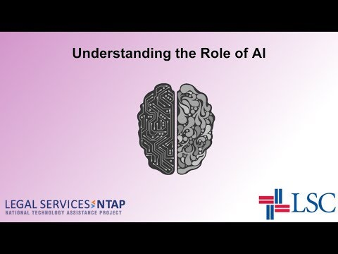 An Introduction to Artificial Intelligence in Legal Aid