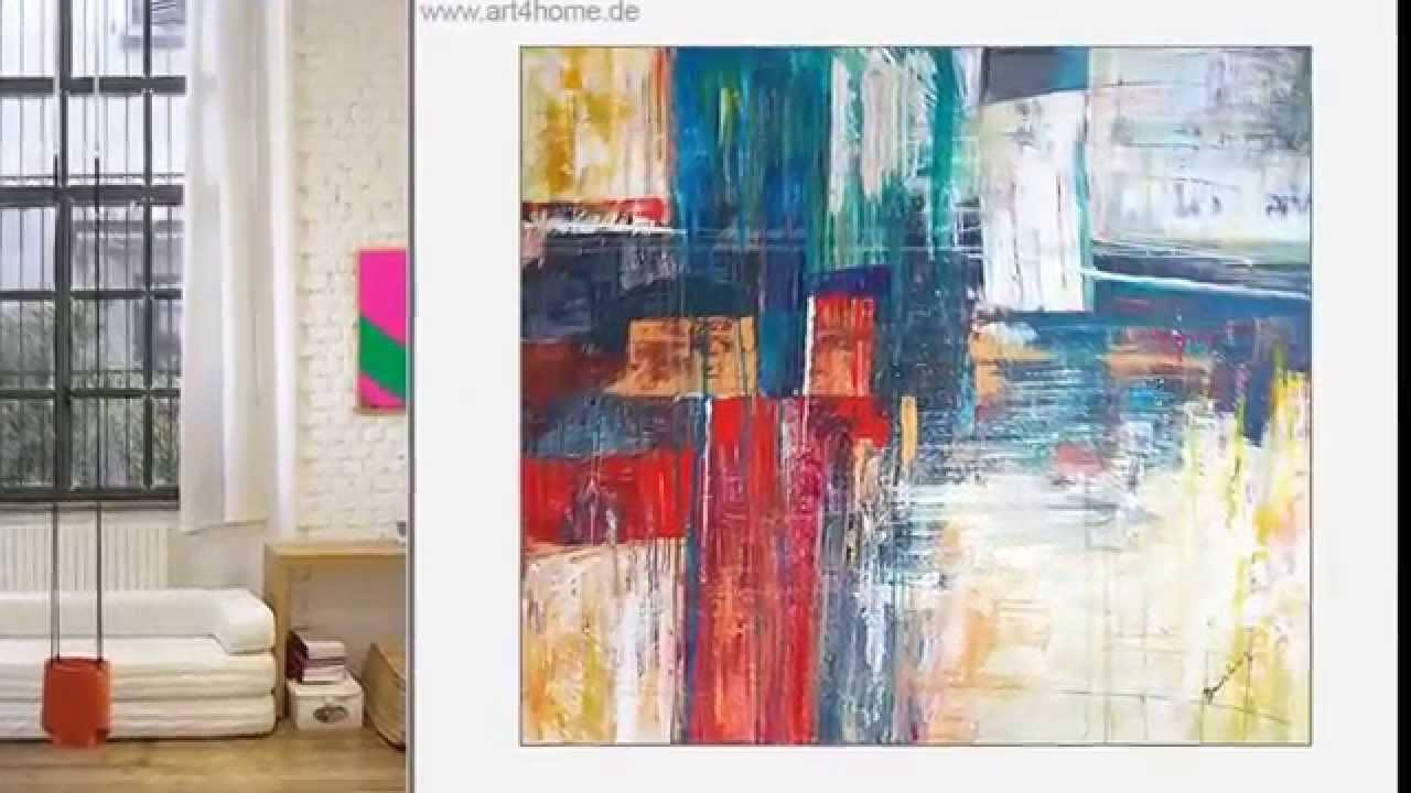 Moderne Wohnzimmerwande Galerie : Moderne xxl acrylbilder online ausstellung youtube