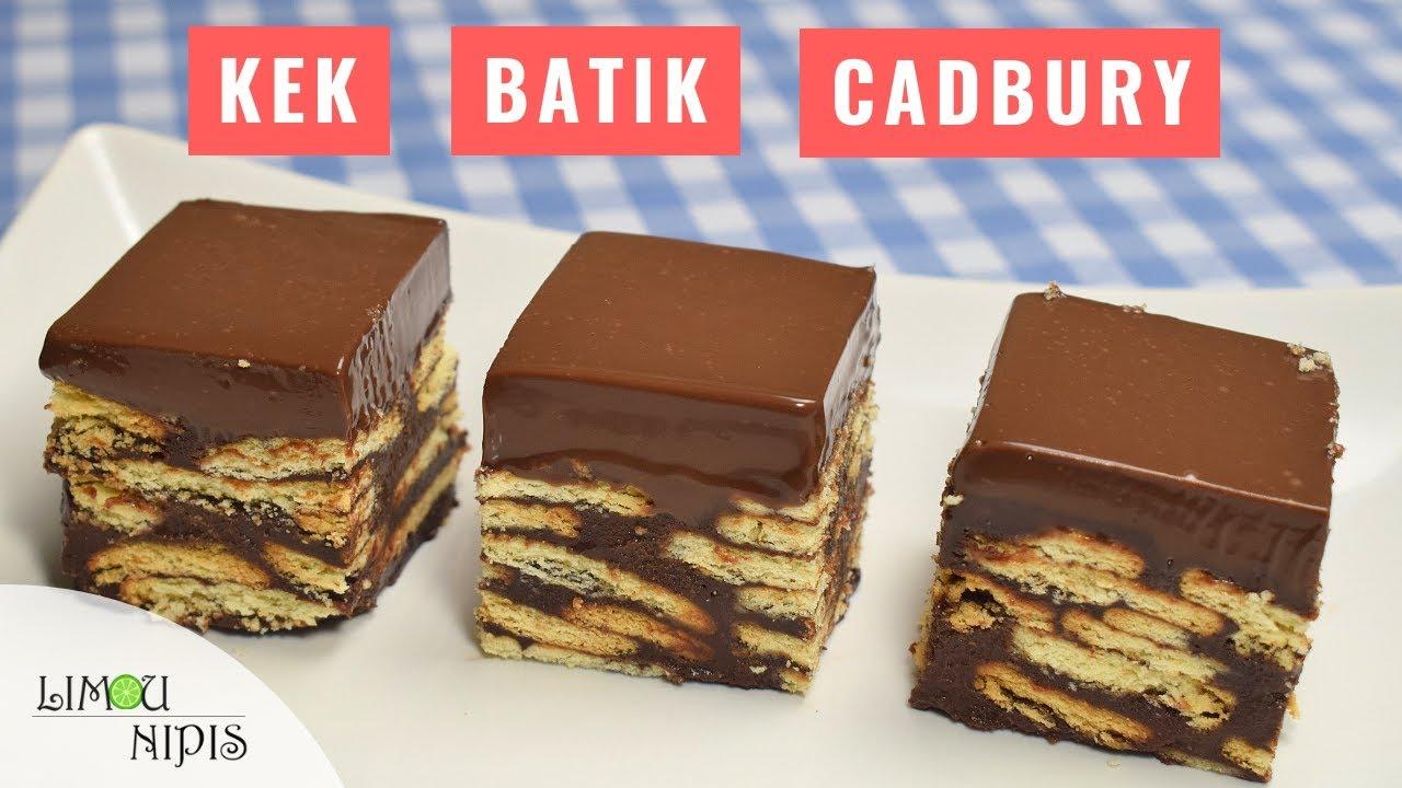 Kek Batik Cadbury Youtube