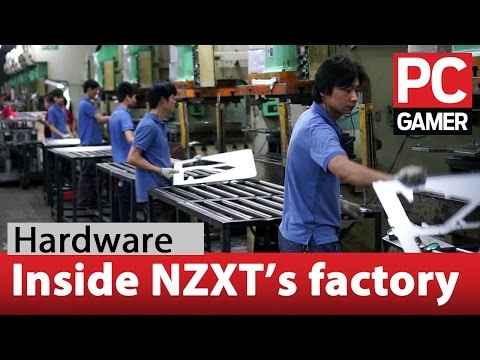 How PC cases are made - NZXT factory tour