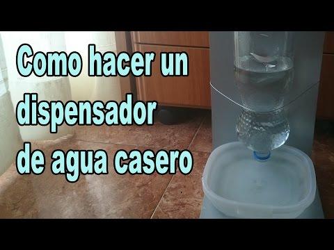 Como hacer un dispensador de agua para mascotas casero