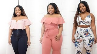 ➣ HUGE SUMMER  2018 HAUL - SHEIN, HOT MIAMI STYLE, & URBAN PLANET  TRY-ON HAUL | Plus Size/Curvy