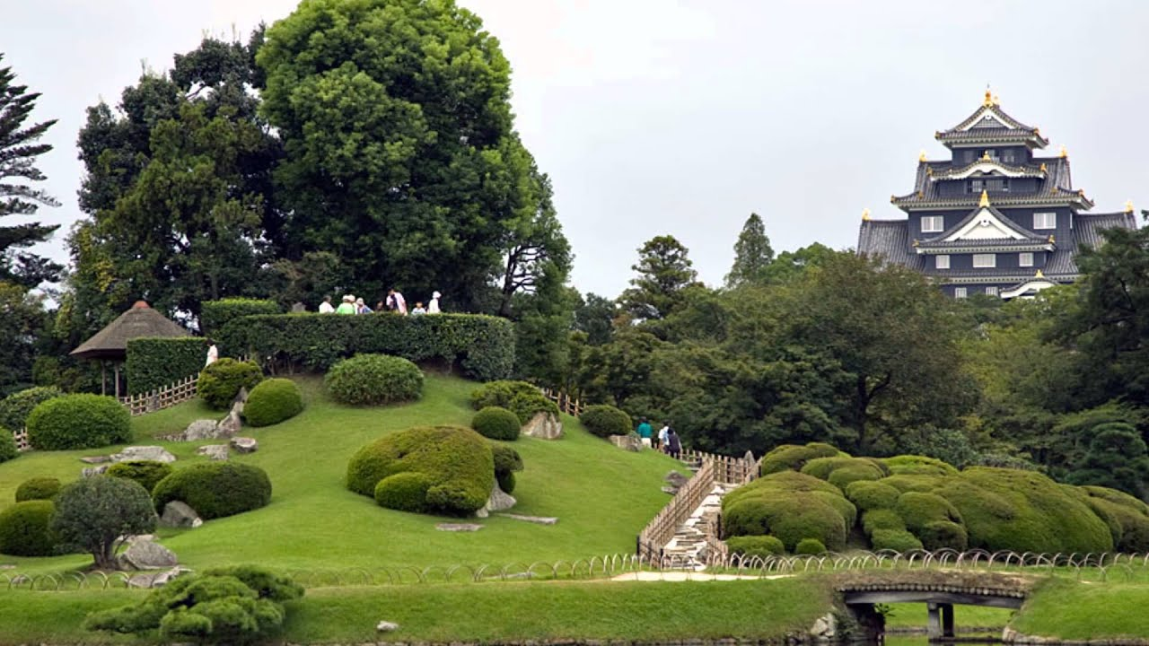 Jardines japoneses 3 hd 3d arte y jardiner a youtube - Jardines japoneses zen ...