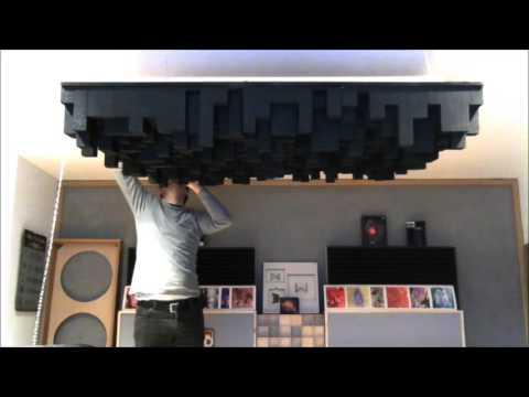 Selfmade Skyline Diffusor - hanging up timelaps