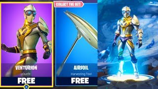 "HOW TO GET NEW SKIN FREE IN FORTNITE! NEW ""VENTURION"" SKIN FREE! (FORTNITE BATTLE ROYALE)"