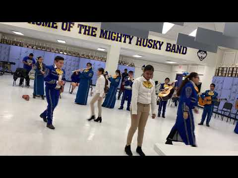 Christen Middle School mariachi Los Tigrillos de Oro JV A Solo and Ensemble Nov 2 2019