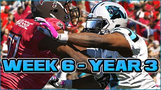 Madden 15 Panthers Connected Franchise - Week 6 @ Buccaneers (Season 3)