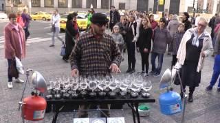 Прага Поющие бокалы - Prague Singing goblets