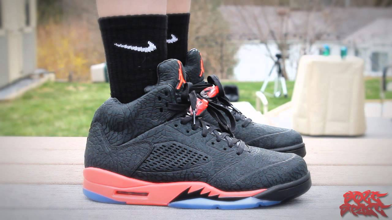 on sale c9347 f896d Air Jordan 5 Retro 3lab5 Infrared s Review (+ On Foot Review)   w  Evan    Jadeon - YouTube