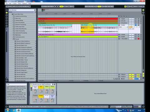 How to remove clipping from audio in Ableton very fast.