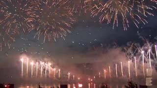 Russian life. Weekend trip.Фестиваль фейерверков Москва команда Казахстана 23.07.2016