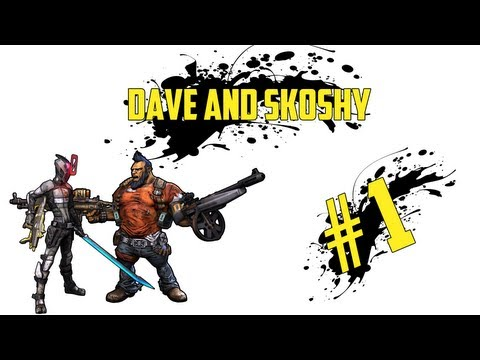 Borderlands 2 Coop Let's Play Ep #01 | My first gun