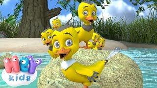 Sześć Małych Kaczek - Zestaw piosenek dla dzieci