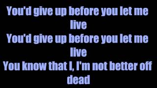 Ohioisonfire - Of Mice And Men ( lyrics )