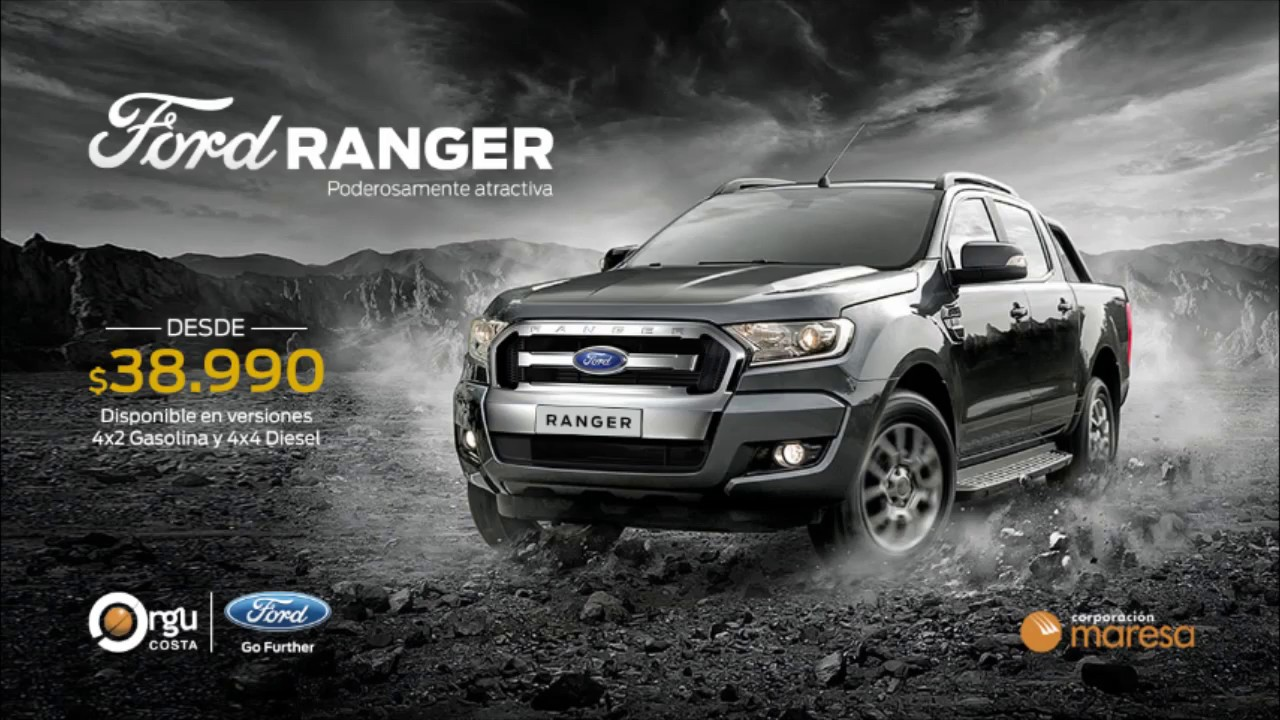 FORD RANGER 2018 - YouTube
