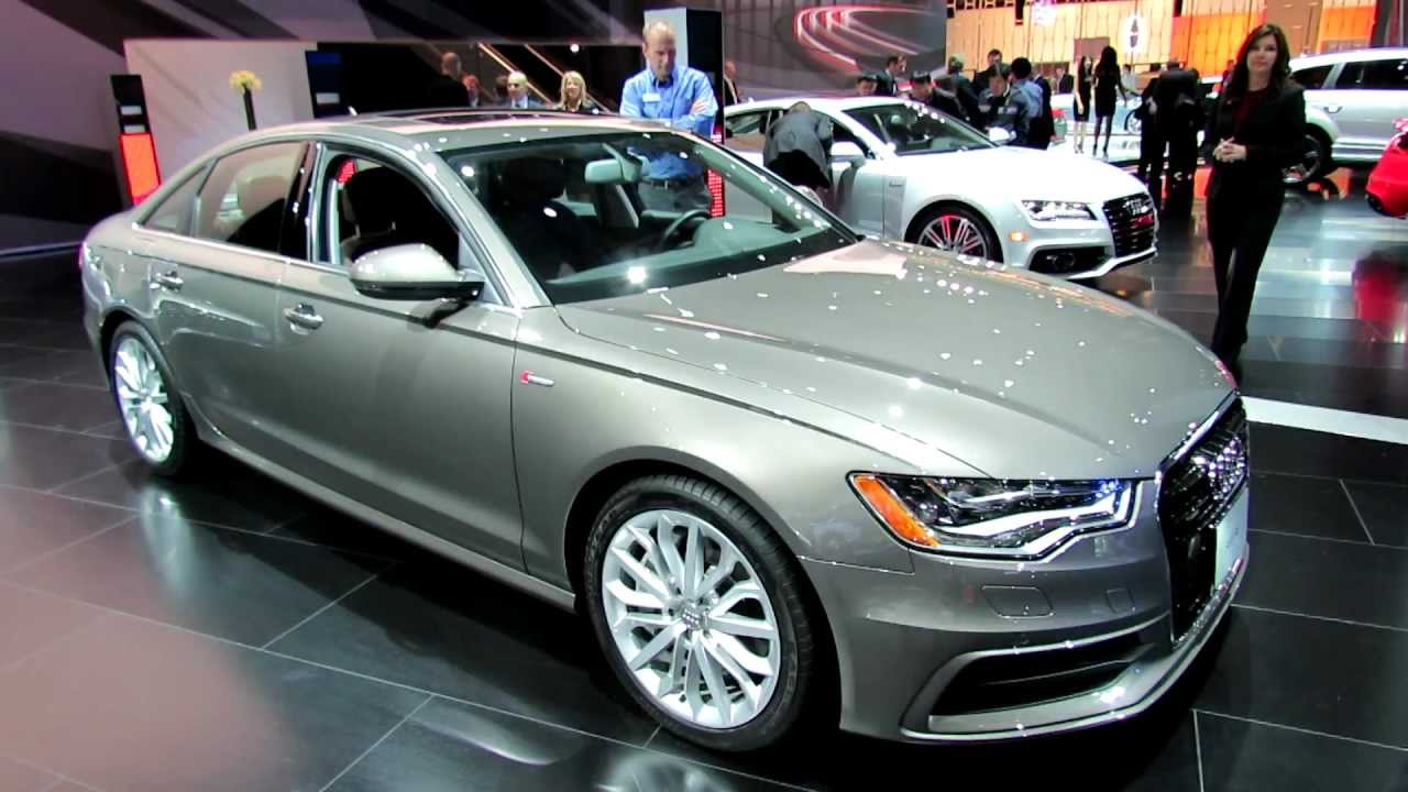 2012 audi a6 s line interior and exterior at 2012 new york international auto show